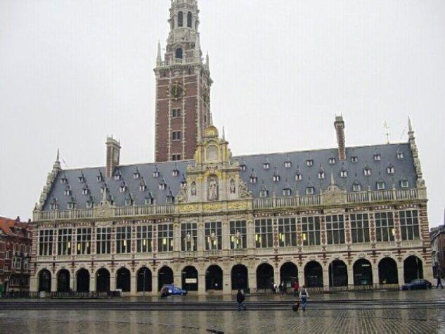 Latinoamericana bibliothèque à l'université de louvain belgique